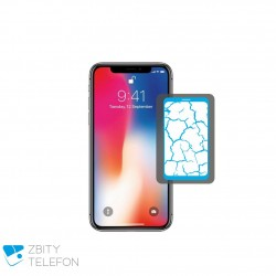 Wymiana zbitej szybki iPhone X